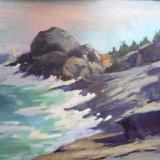 """Gull Cove  24x36"""" oil"""