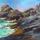 "Gull Rock Impressions 20x30"" oil"