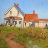 "The Lightkeeper's House"" 18x24"" oil"