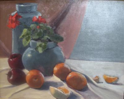 Green Pottery 16x20 oil