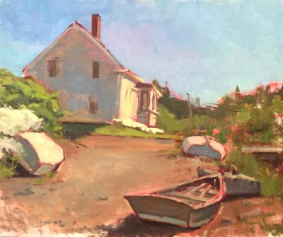 "Vaughn House Early Summer 16x20"" oil"