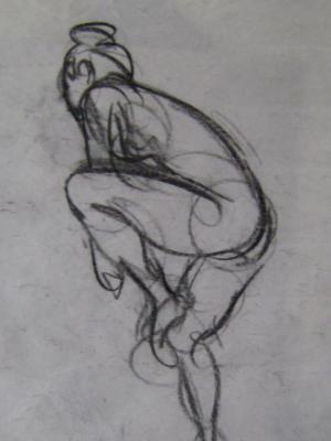 Charcoal Sketch 18x24