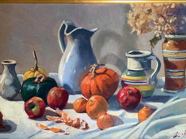 """Autumn Harvest 20x30"""" oil"""