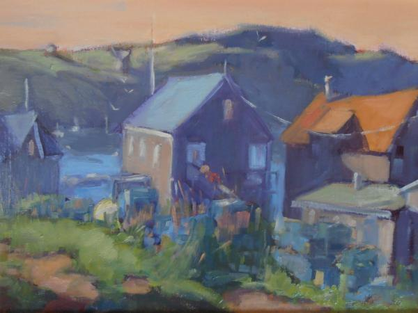 """View from the Porch 11x14"""" oil sold"""