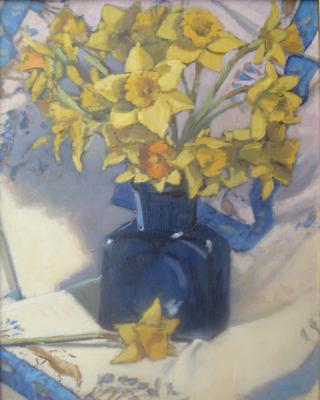 Egyptian Daffodils 16x20' oil  sold