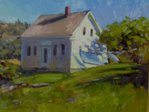 """The Chadwick House 12x16"""" oil  sold"""
