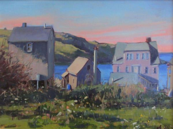 """View From the Parsonage in September 18x24"""" sold"""