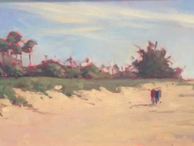 "Nokomis Beach House oil 12x24"""