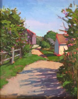 """Spring Road 16x20"""" oil sold"""