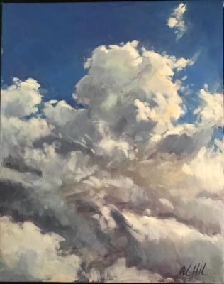 "Cloud 1 16x20"" oil sold"