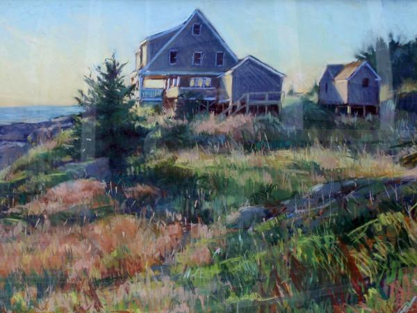 "The Kent House 24x36"" pastel"