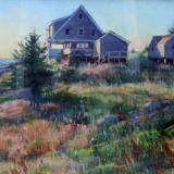 "The Kent House 24x36"" pastel"