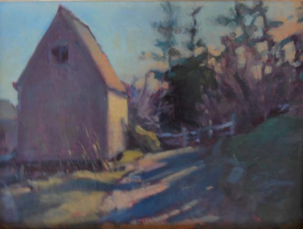 """March Ropeshed 11x14"""" oil"""