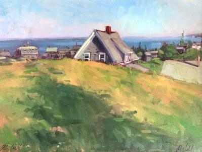 "Johnson Cottage 18x24"" oil"