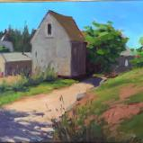 """The Rope Shed 12x16"""" oil"""