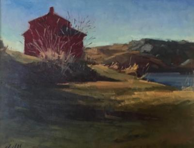 """March Red House 16x20"""" sold"""