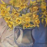 "Daffodils 16x20"" oil"