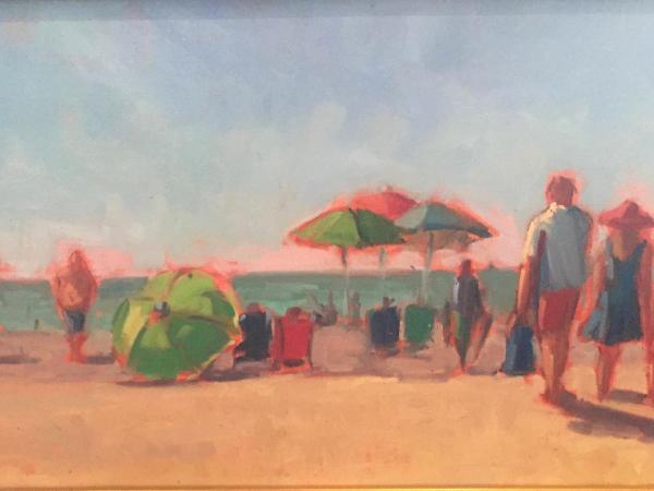 """Nokomis Beach oil 12x24"""""""