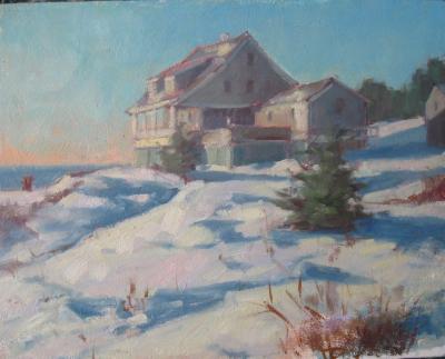 """Kent House 16x20"""" oil"""