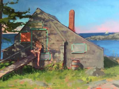 """""""Castaways"""" Island Institute Show May 1st- June 19th 2015"""